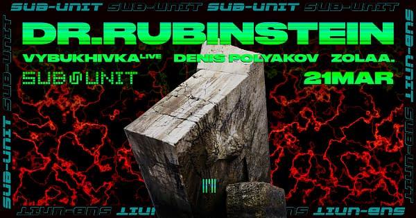 Sub-Unit: Dr.Rubinstein