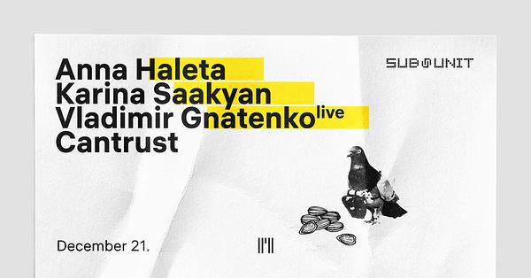 Sub-Unit: Anna Haleta, Karina Saakyan, Vladimir Gnatenko (live)
